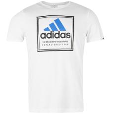 Adidas Roots férfi pamut póló kék XL