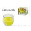 Citronella díszgyertya üvegben