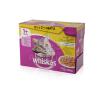 Whiskas alutasakos eledel szárnyas válogatás aszpikban 12 x 100 g macskaeledel