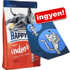 Happy Cat Sensitive 2 x 4 kg Happy Cat + Happy Cat pléd ingyen! - Sensitive kacsa