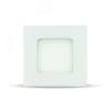 3W LED Premium Panel Beépíthető - négyszög alakú 4000K - 6296