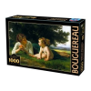 D-Toys puzzle, Bouguereau - Temptation (Mother and Child), 1000 darab (5947502872764_BO02)