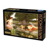 D-Toys puzzle, Waterhouse -  Echo and Narcissus, 1000 darab (5947502872757_WA02)