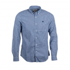 TIMBERLAND Long Sleeve Slim Rattle River Gingham Shirt D (A1AXU-p_B08-Blueprint YD)