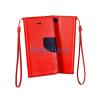 Lenovo S1 Lite Fancy Könyvtok - Piros