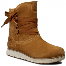 TIMBERLAND Magasított cipő TIMBERLAND - Leighland Pull On A17MW Wp Trapper Tan