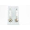 BBH Inspiration Életerő fülbevaló napocska medállal rózsakvarcból és opálból