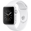 Apple Apple Watch Series 2 Aluminium Case Black 42mm - White Sport Band