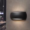 Fumagalli FRANCY fali lámpa E27 fekete test - opál üveg szenzoros (Lámpa)