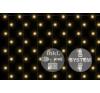 diLED fényfüggöny - 200 LED meleg fehér + bekötés karácsonyfa izzósor