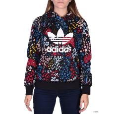 Adidas PERFORMANCE Női Végigzippes pulóver TRF LOGO HOODIE