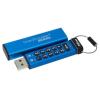 Pendrive, 16GB, USB 3.0, Keypad, KINGSTON DT2000, kék (DT2000/16GB)