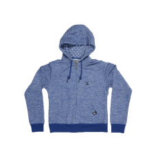 Dorko BASIC SWEAT HOODY BLUE MARL Pulóver (DR17050_0461)