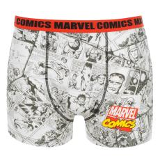 Marvel Single férfi boxeralsó piros XL