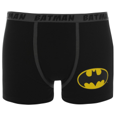 DC Comics Batman Single férfi boxeralsó fekete S