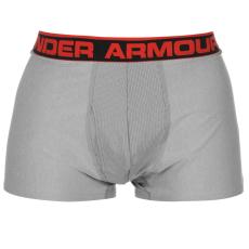 Under Armour 3 Inch Jock férfi boxeralsó szürke XL