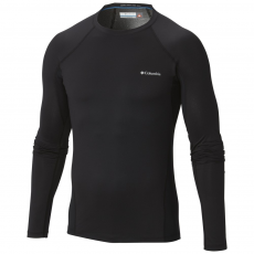 Columbia Heavyweight Stretch Long Sleeve Top Sport póló,aláöltöző D (1638561-p_010-Black)