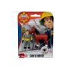 Simba Sam, a tűzoltó állatmentő figura szett - Sam és ló