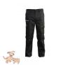 Julius-K9 K9 pamut nadrág, fekete-bézs, cipzározható szárral - impregnált, - méret 48 férfi nadrág
