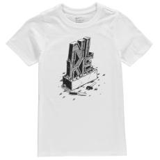 Nike Chiseled gyerek póló - Just Do It Quote - Nike Chiseled Just Do It Quote T Shirt Junior Boys