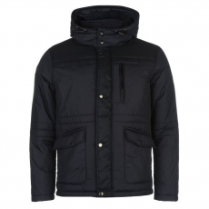 Lee Cooper férfi dzseki - Lee Cooper Denim Detail Padded Jacket