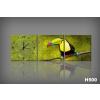 Byhome Vászonkép Faliórával H500 ambiente Toucan