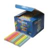 SuperColor Táblakréta pormentes háromszög kerekített SZÍNES SuperColor100db/dob