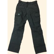 Sandstone Oldalzsebes Nadrág Woodland Pants - 6027_Used_Black