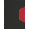 DAYLINER Naptár, tervezo, A5, napi, Memphis, fekete-piros