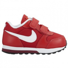 Nike MD Runner 2 gyerek sportcipő, University Red/White, 22 (806255-602-6c)