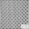 Locatelli Perforált lemez Laccato Hdf Fiore 101 Fehér 1400x510x3mm