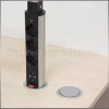 delight Konnektor Munkalapba süllyeszthető 3-as USB
