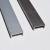 ProAlu Tolóajtó ProALU C-profil 18mm laphoz 3fm Alumínium