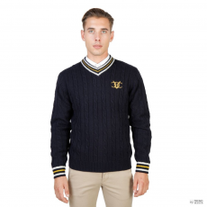 Oxford University férfi Pulóver OXFORD_TRICOT-CRICKET-NAVY