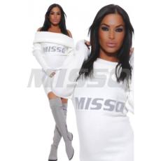 MISSQ M597A K. Kámzsásnyakú ruha -Missq