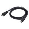 Gembird USB 3.0 cable to type-C (BM/CM), 1m, black