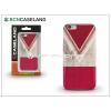BCN Caseland Apple iPhone 6/6S hátlap - BCN Caseland V Neck Rojo - red