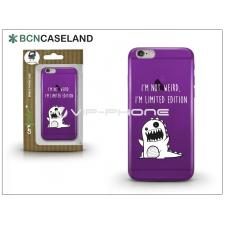 BCN Caseland Apple iPhone 6/6S szilikon hátlap - BCN Caseland Limited Edition - lila tok és táska