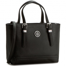 Tommy Hilfiger Táska TOMMY HILFIGER - Honey Small Tote AW0AW03399 002