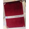 Télapó/Mikulás könyve, bordó bársony , arany díszítéssel (A/4, sima, 70 lapos)