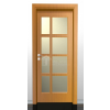 TITÁN 3/C, luc fenyő beltéri ajtó 90x210 cm