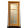 TITÁN 3/D, luc fenyő beltéri ajtó 75x210 cm