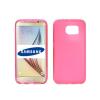 TPU-SAM-G935-P Samsung Galaxy S7 Edge vékony szilikon hátlap, Pink