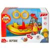 Simba Sam a tűzoltó járművek - Neptune motorcsónak figurával