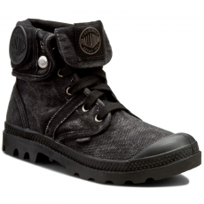 Palladium Bakancs PALLADIUM - Pallabrouse Baggy 92478069M Black/Metal