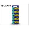 Sony LR1130 Alkaline gombelem - 1,5V - 5 db/csomag