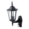 - Bolive Up kültéri oldalfali lámpa (E27) fekete, mozgásérzékelő