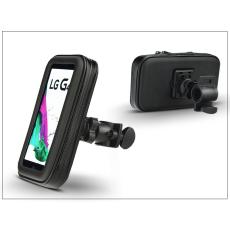 """Haffner Univerzális kerékpárra szerelhető telefontartó táska 4,8-5,5"""" méretű készülékekhez"""