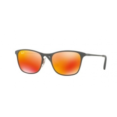 Ray-Ban RJ9539S 258/6Q RUBBER GREY/YELLOW FLASH ORANGE napszemüveg