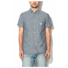 Jack Jones Jack&Jones Kék Férfi Slim Fit Rövid Ujjú Ing, S (12106291-MEDIUM-BLUE-DENIM-S)